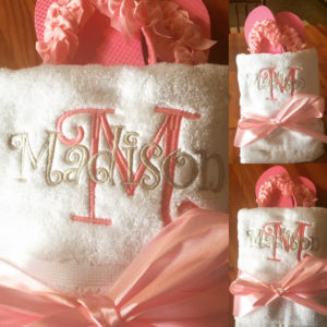 Monogram-name-embroidery-towels