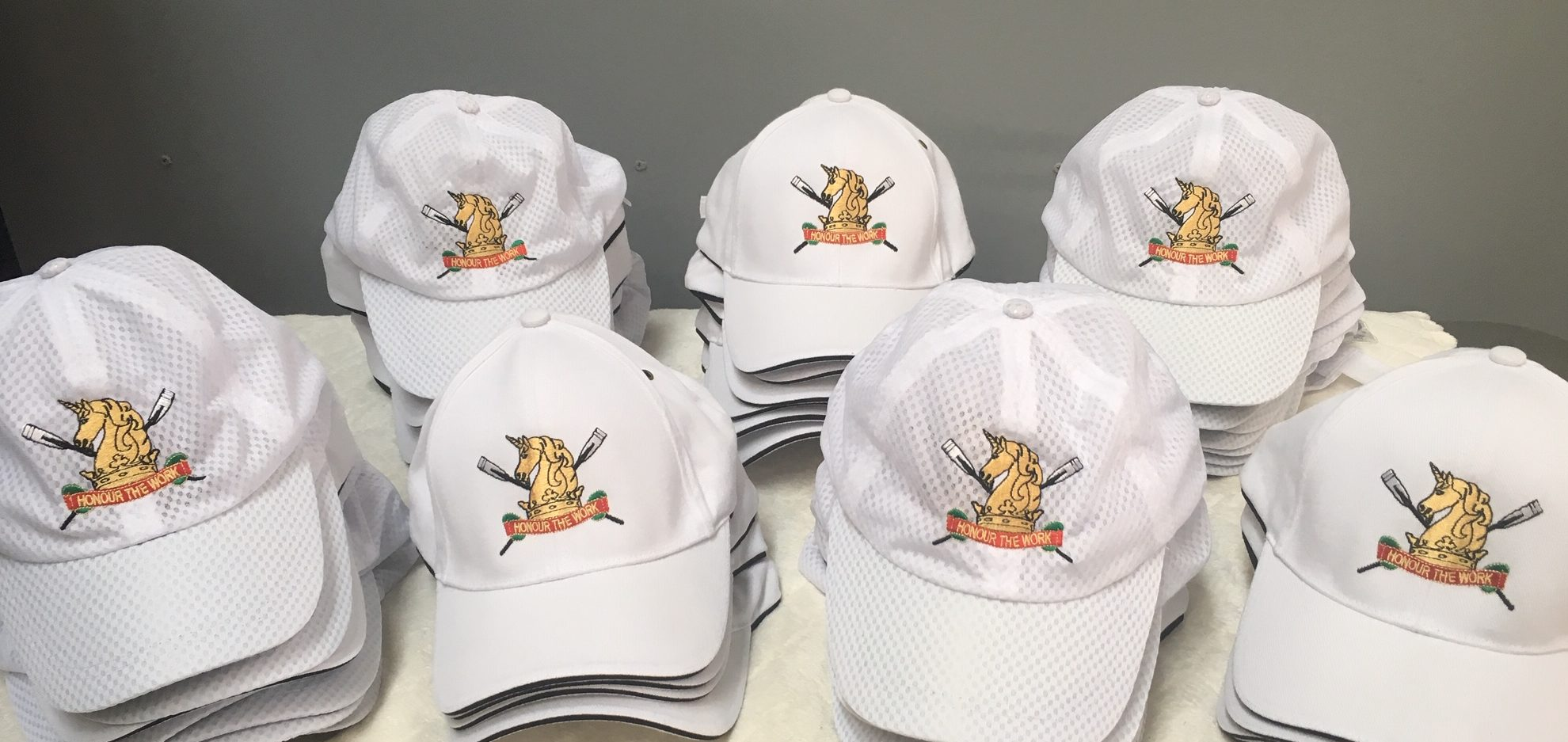 melbourne-high-school-MHS-rowing-club-caps-embroidery