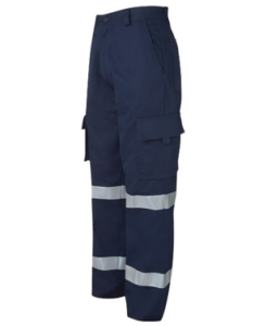 work wear pants with reflective tapes