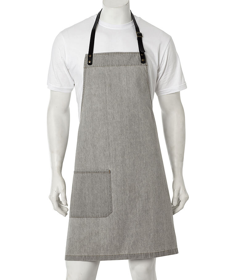 Apron Grey Vintage Denim